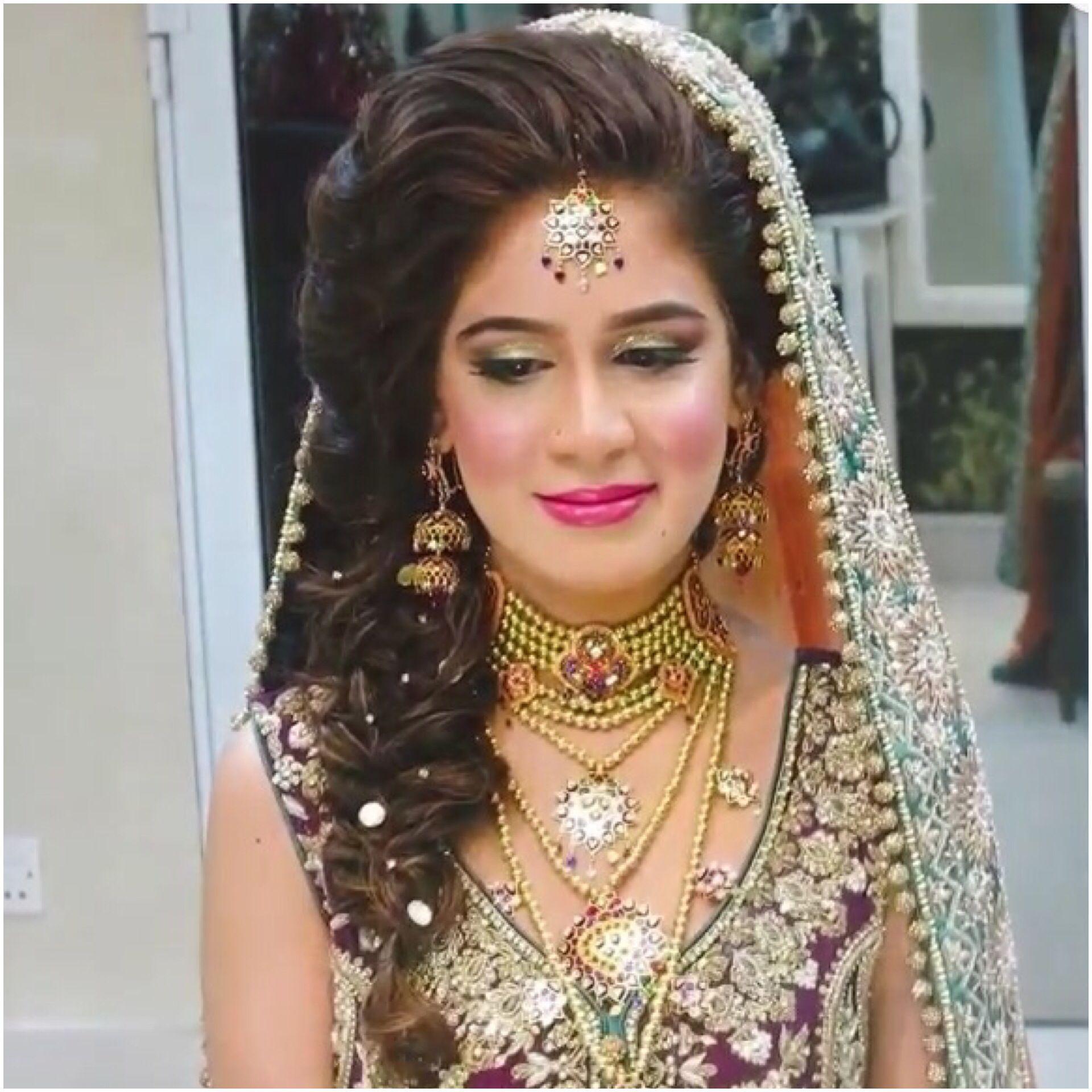 Loose braid for mehndi | hair did | Wedding Hairstyles ...
