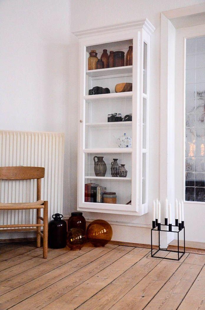 Diy Shelves Ideas Wall Mounted Glass Door Shelving Unit