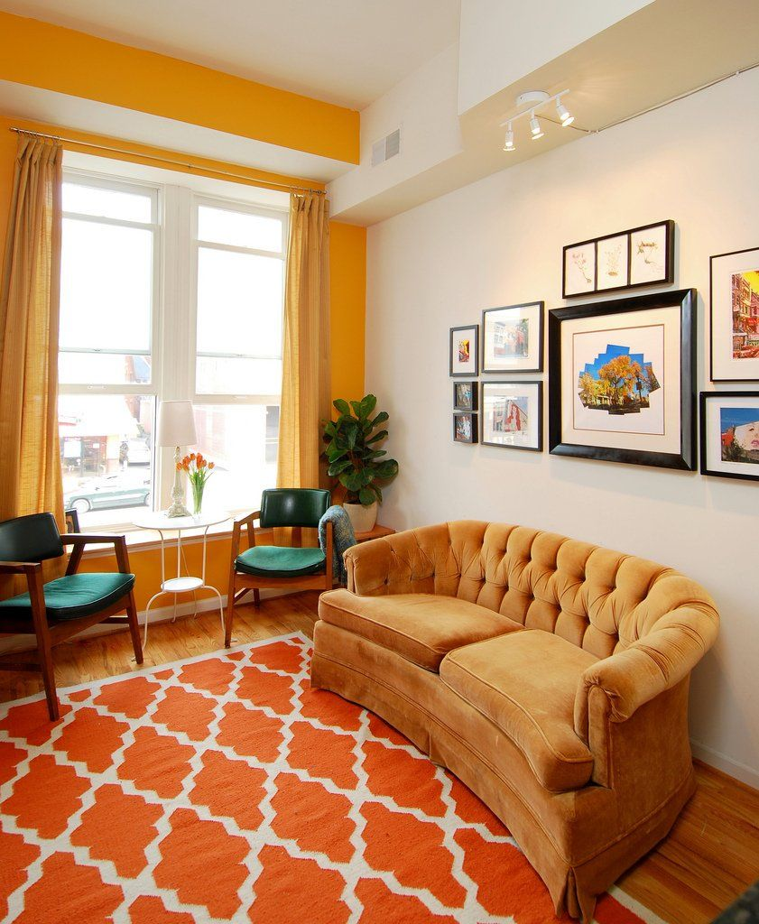 Must See Room For Color Entries Week One Yellow Living Room Family Room Design Interior