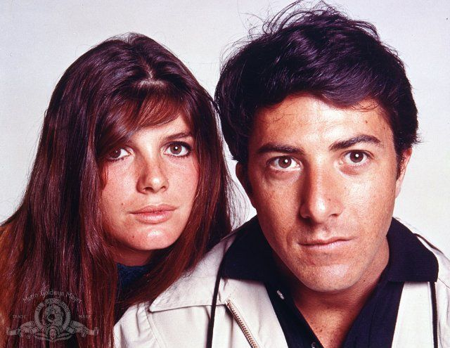 Image result for dustin hoffman in the graduate