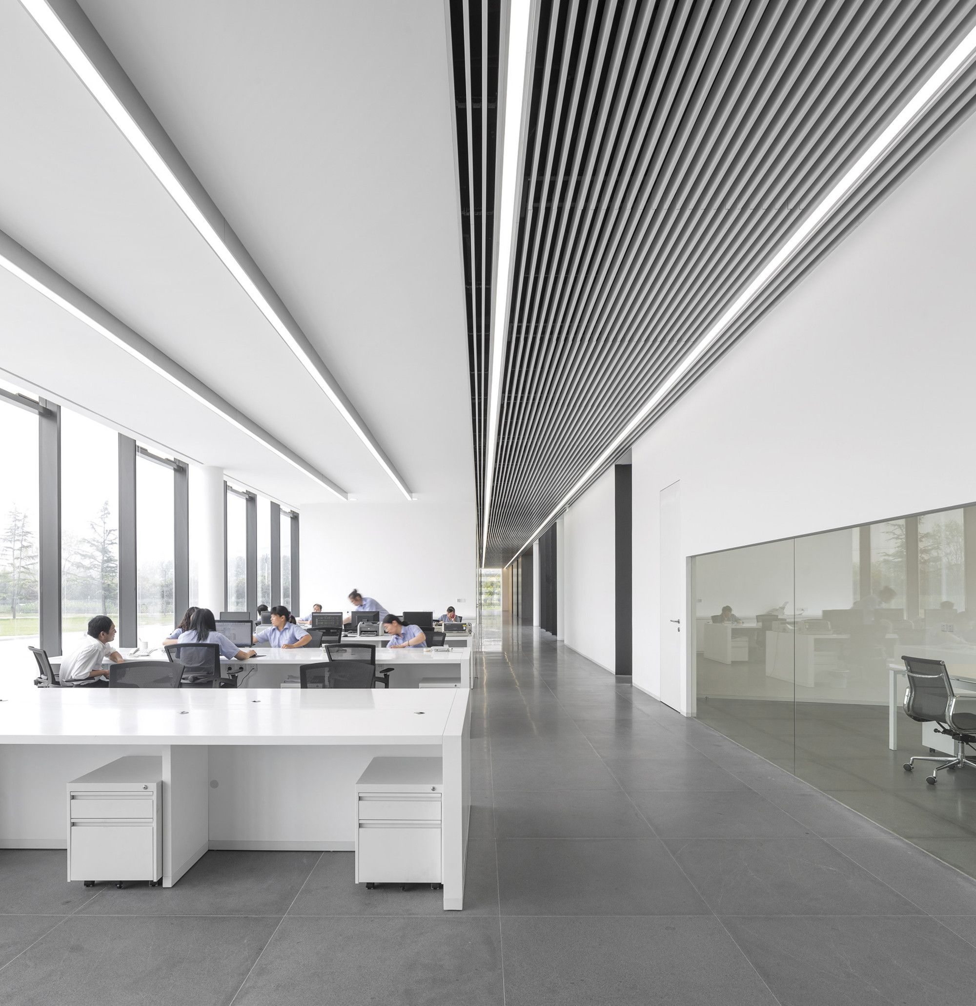 of TaiwanGlass Donghai Office Building / WZWX Architecture Group - 2 Gallery - TaiwanGlass Donghai Office Building / WZWX Architecture Group - 2