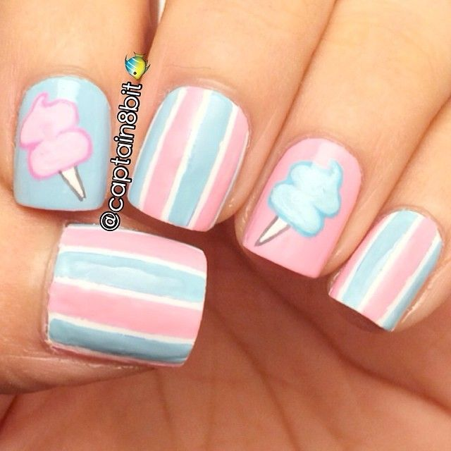 40 Cool Candy Nail art | Best Pictures - 40 Cool Candy Nail Art Best Pictures Nailed It Pinterest