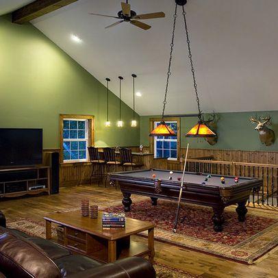 Decorating Bonus Room Above Garage Space Over Garage Above Garage Garage Game Rooms Pool Table Room Bonus Room Decorating