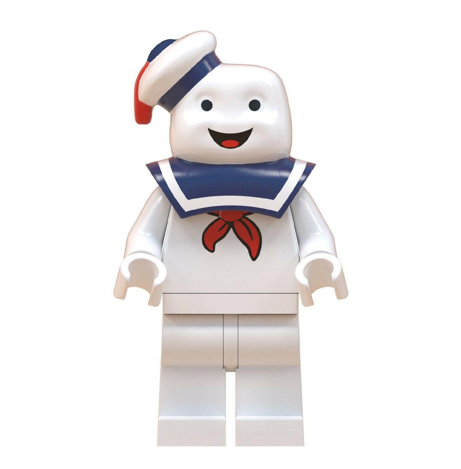 Custom Lego Ghostbusters Stay Puft Mini Figure.
