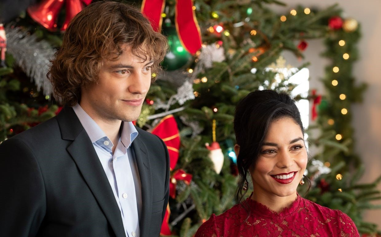 Vanessa Hudgens On Starring In The Time Travel Christmas Movie The Knight Before Christmas The Knight Before Christmas Best Christmas Movies Vanessa Hudgens
