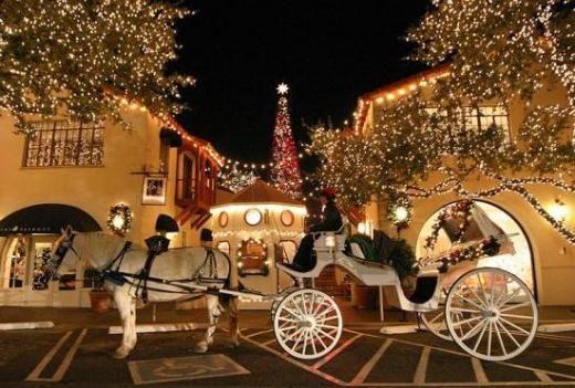 Highland Park Village At Christmas Dallas Tx Home