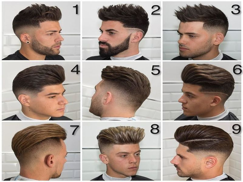 Nice Barber Haircuts Styles Check More At Https Hairstylesformen Club Barber Haircuts Styles Potongan Rambut Gaya Rambut Rambut