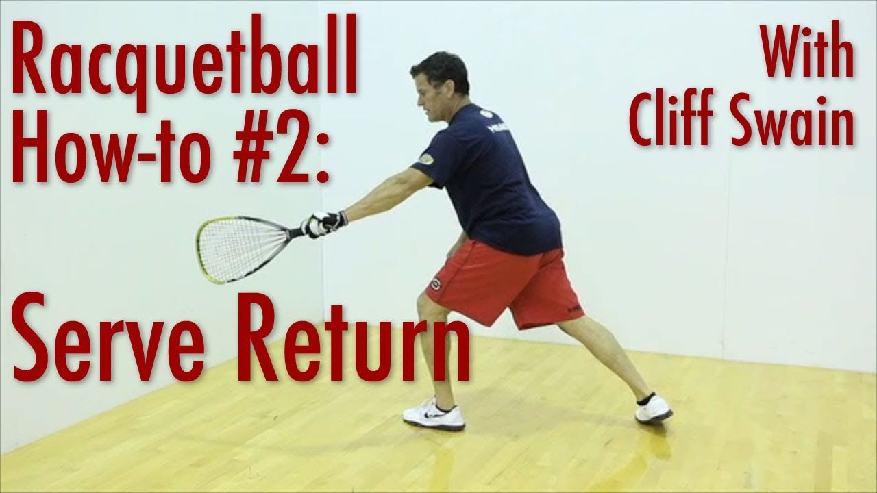 How To 'Serve Return' From Professional Racquetball Player