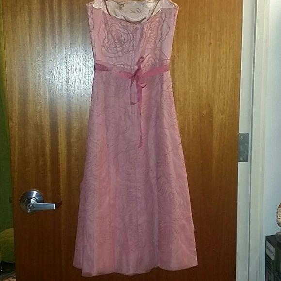 BCBGMaxAzria Dresses - BCBG strapless prom/cocktail dress.