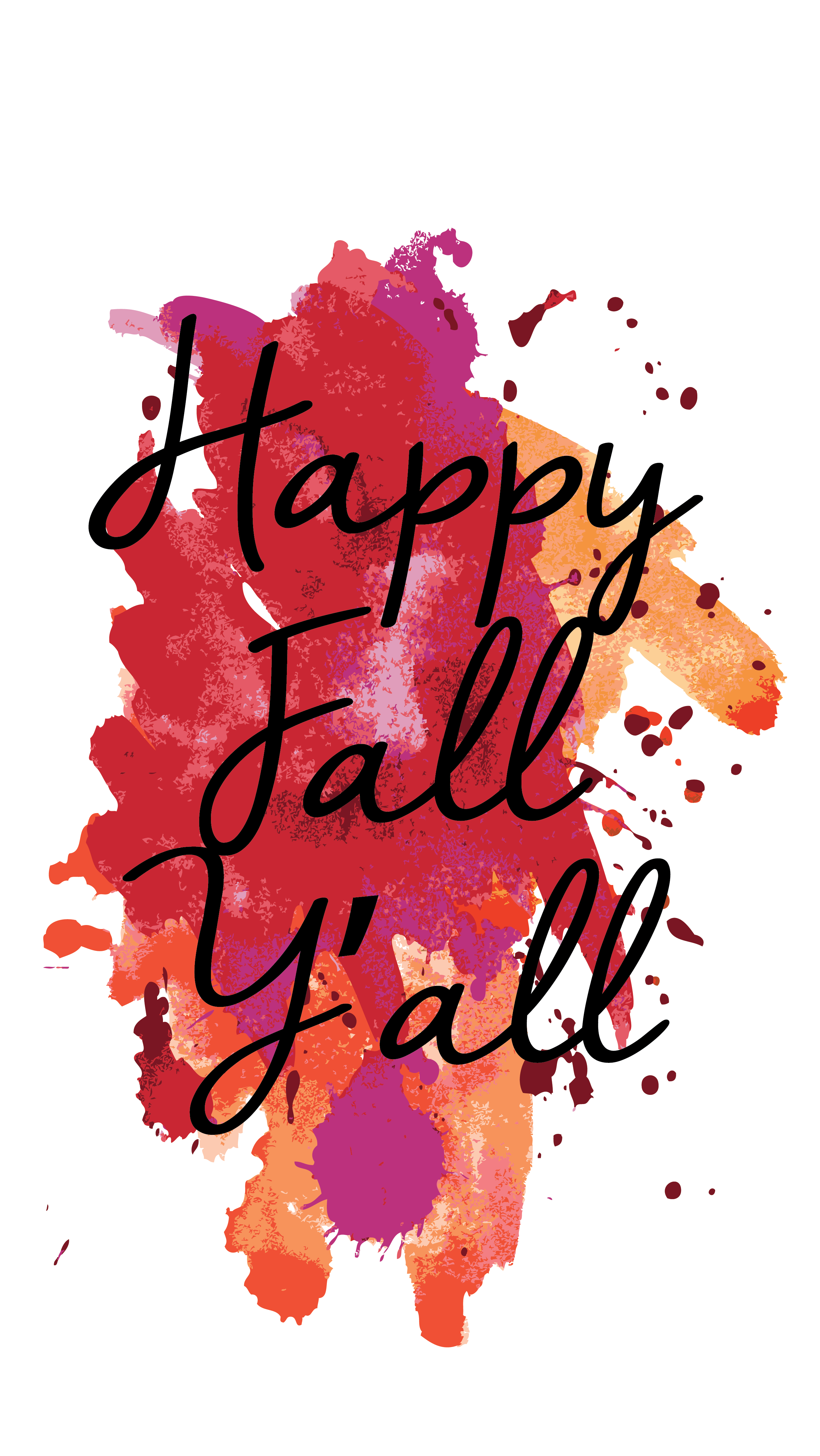 Friday Freebie! Fall Inspired Phone Wallpapers Wallpaper