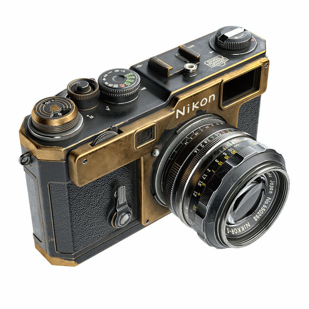 Nikon S3 Film Camera optical 3D   CGTrader