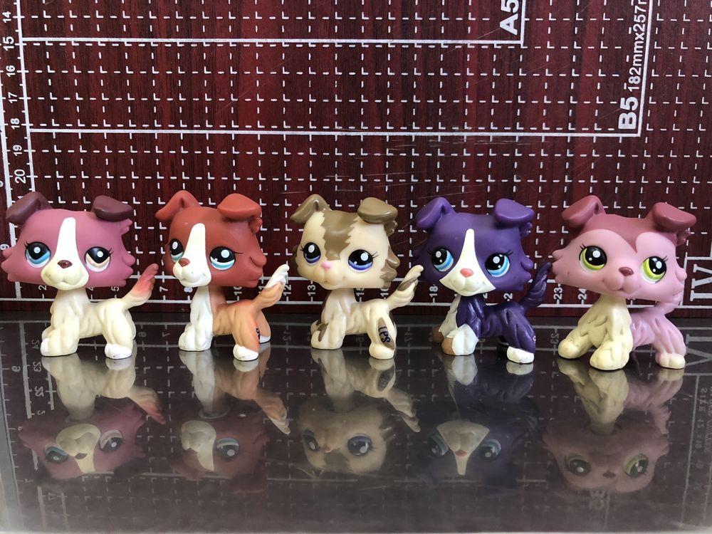 Toys & Hobbies 5 Pcs Random Hasbro Littlest Pet Shop Collection LPS Figure Loose Toys Animals