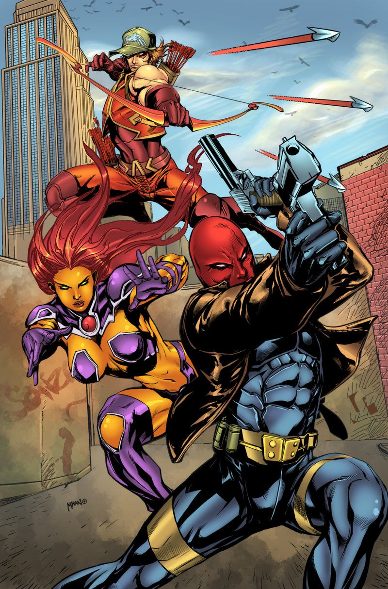 Dc Comics Fans : Red hood and the outlaws fan art redhood