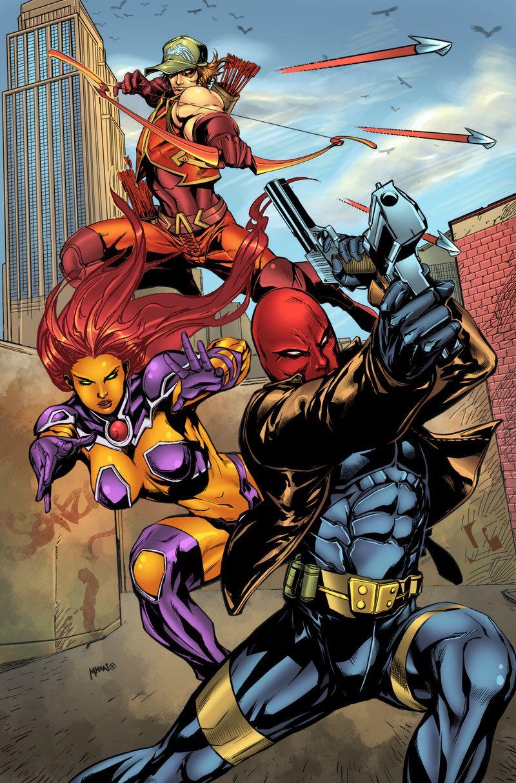 Redhood And The Outlaws Redhood And The Outlaws Dc Comics Characters Western Comics