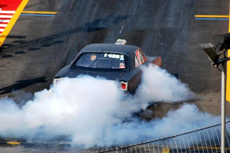 Smokin' the tires
