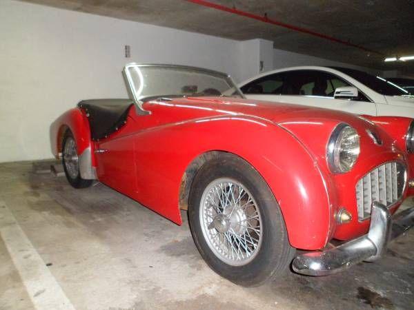 Triumph TR3 Small Mouth 1959 $14,950 - Miami, FL #ForSale ...