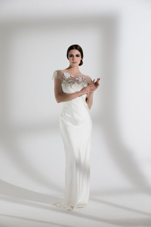 BLOSSOM TOP & IRIS SLIP | WEDDING DRESS BY HALFPENNY LONDON | The ...