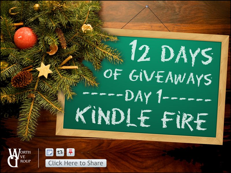 Check out Worth Ave Group's 12 days of giveaways on Facebook!!