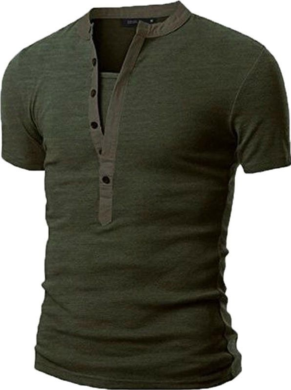 c6622e90 New Mens V Neck Short Sleeve Shirts Slim Fit T-Shirt Casual Muscle Tee  Fashion