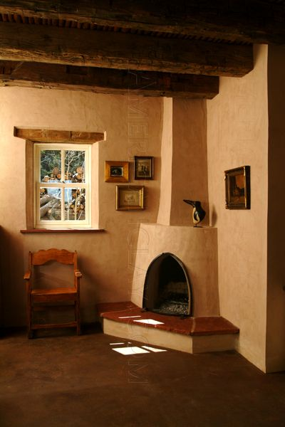 American Clay Traditional Adobe Rustic House American Clay Walls American Clay