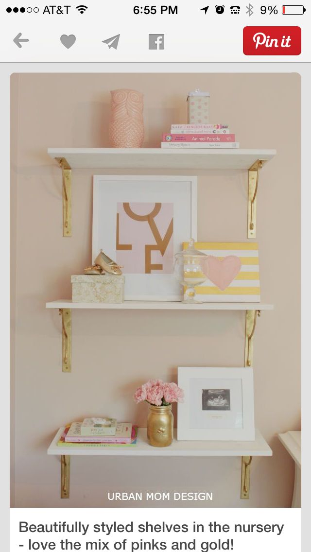 ...THESES GOLD BRACKETS TAKE THIS WHOLE SHELVING UP A LEVEL!!!