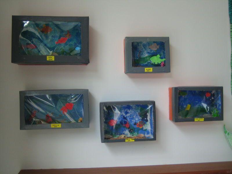 Populaire Les boîtes à chaussures - aquariums | activité poisson d'avril  KU29