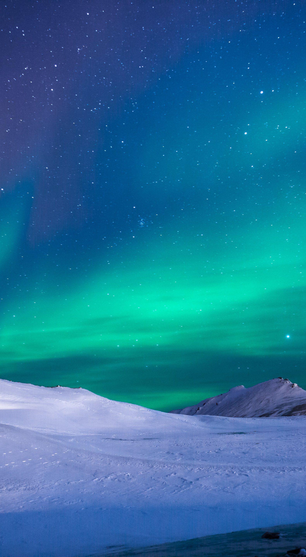 Aurora Polar Lights Northen Iphone Wallpaper Winter Northern Lights Wallpaper Nature Wallpaper