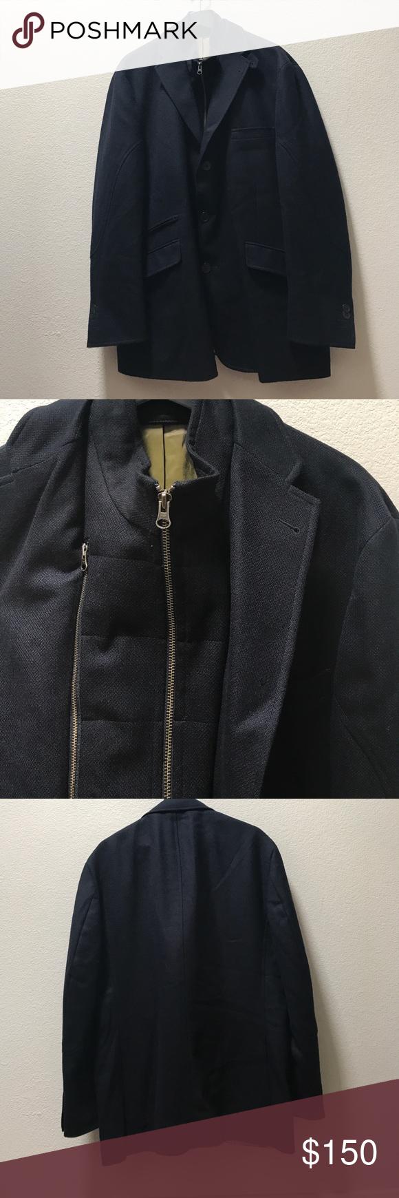Kroon Mens Ritchie Blue Jacket