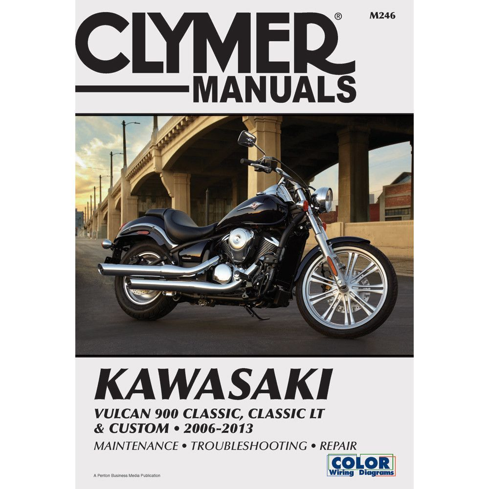 Kawasaki Vulcan 900 Classic Wiring Diagram Schematics 2009 Ex500 Clymer Lt Custom 2006 2013 Rh Pinterest Com Ignition