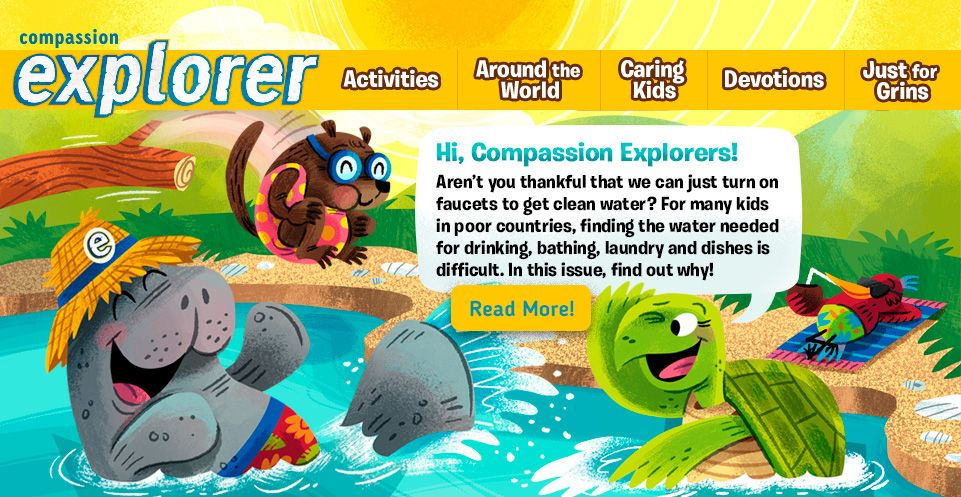 Compassion Explorer Magazine