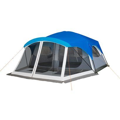 Embark 9 Person Cabin Tent With Screen Porch