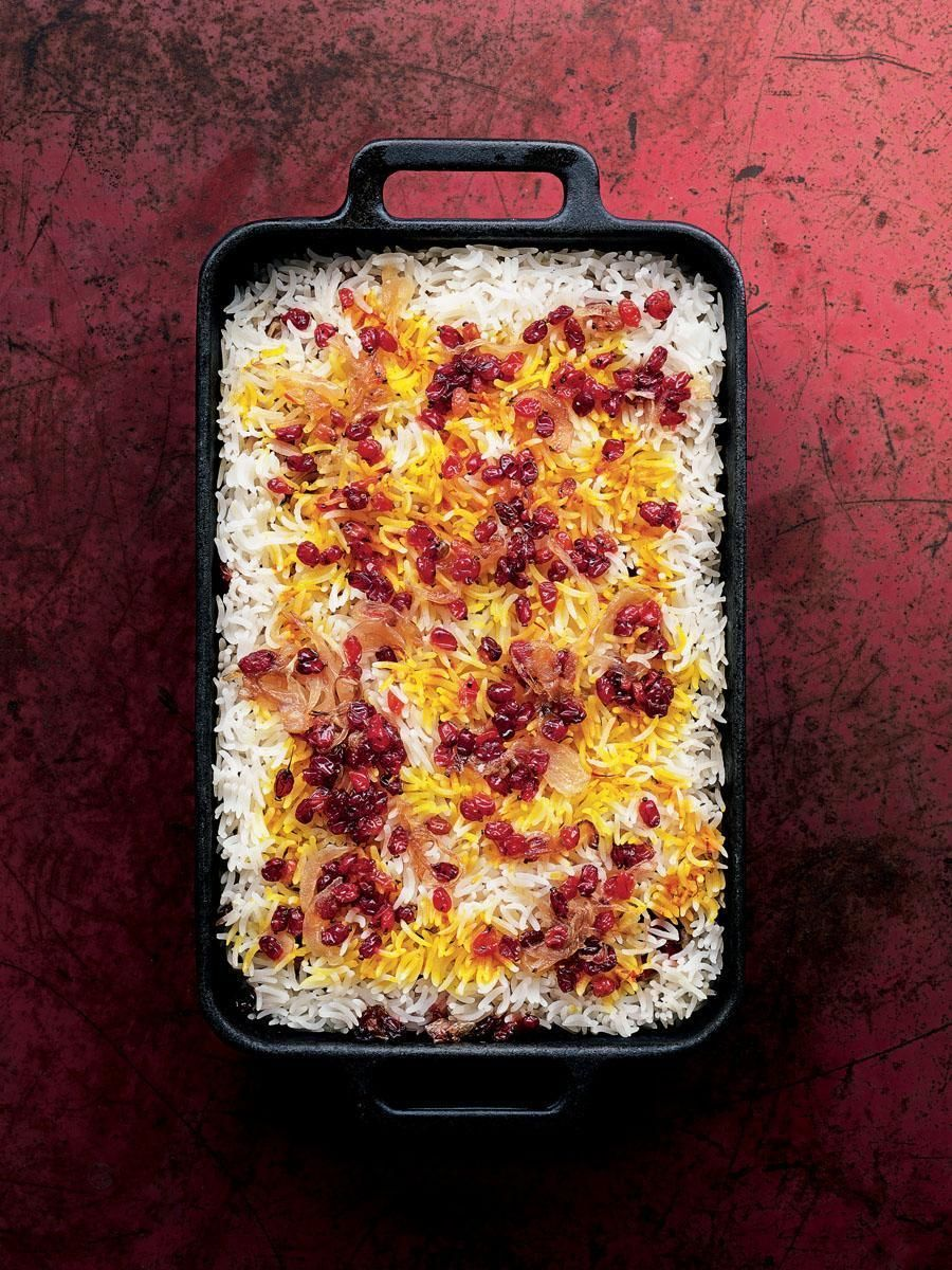 Berry pilaf from vegetarian india madhur jaffrey james beard this weeks cookbook is vegetarian india a journey through the best of indian home cooking by madhur jaffrey the legendary actress and indian cooking forumfinder Choice Image