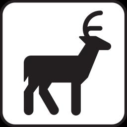 File Pictograms Nps Misc Deer Viewing Svg Pictogram Deer Poster Design Inspiration