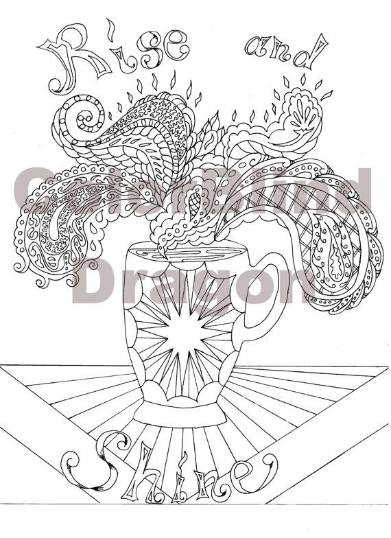 Coffee, coloring page, coloring pages, coffee, java, steam