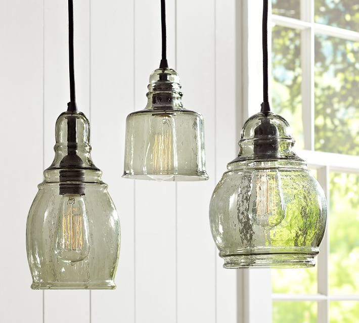 Pottery Barn Paxton Gl Single Pendants Kitchen Heat