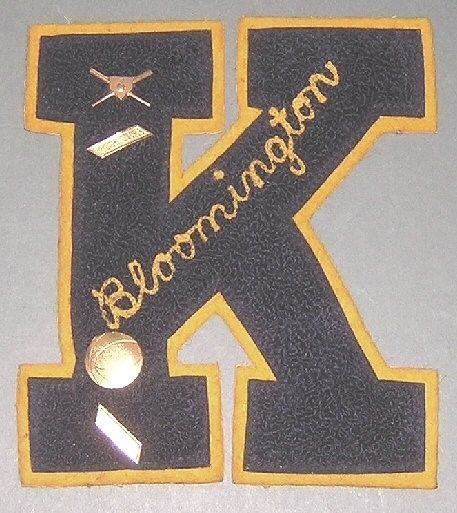 vintage 1960s kennedy high school varsity letter pins bloomington minnesota ebay
