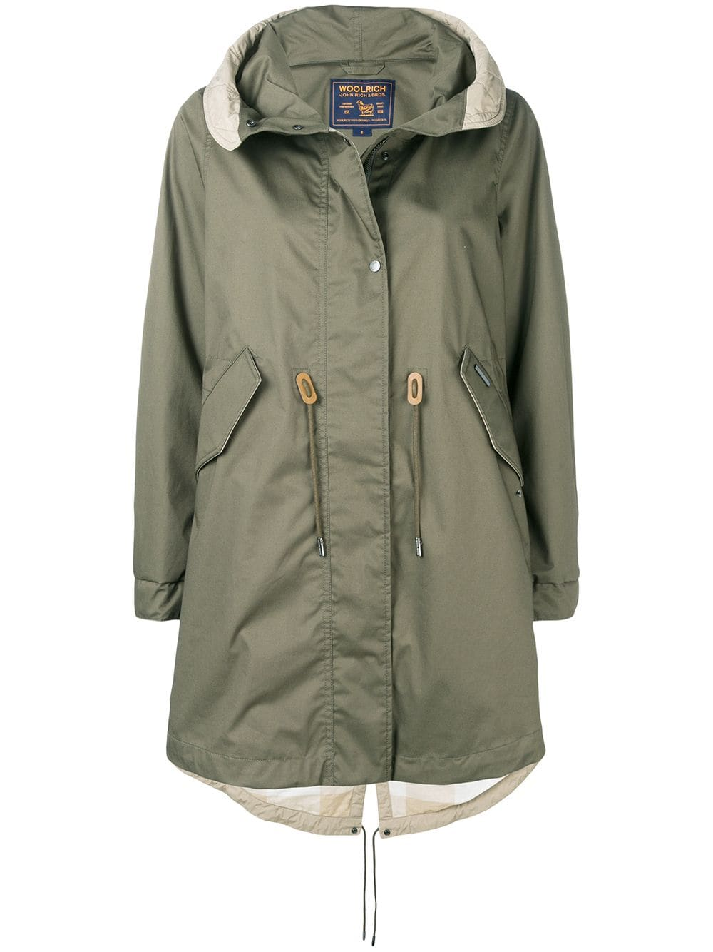 3da26e05f5a Woolrich hooded parka coat - Green in 2019 | Products | Hooded parka ...
