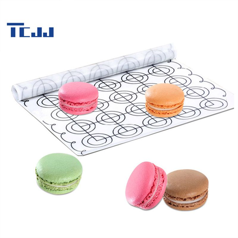 Large Size Silicone Baking Pastry Mat Macaron Making Liners Non-Stick Kneading Dough Mat Bakeware Pads 60*26cm #Affiliate