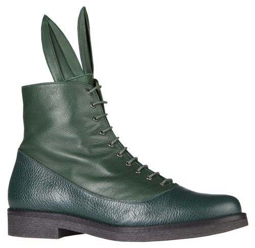 BUSTER SPADES GREEN | MINNA PARIKKA Online Shop - May these shoes lead you to new adventures. Want!