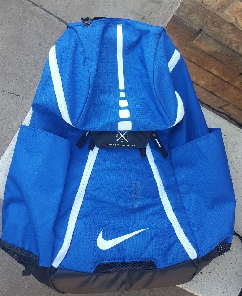 Nike Hoops Elite Max Air Team 2.0 Basketball Backpack Blue