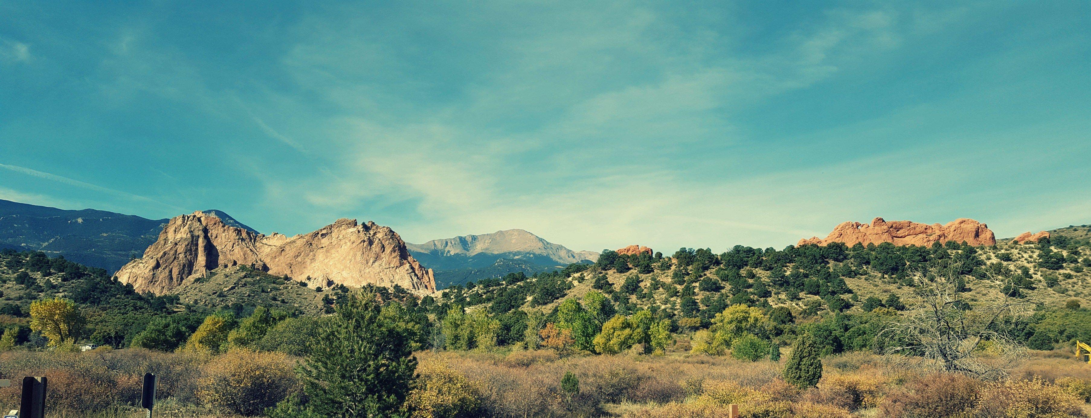 Hiking adventures garden of the gods in colorado springs