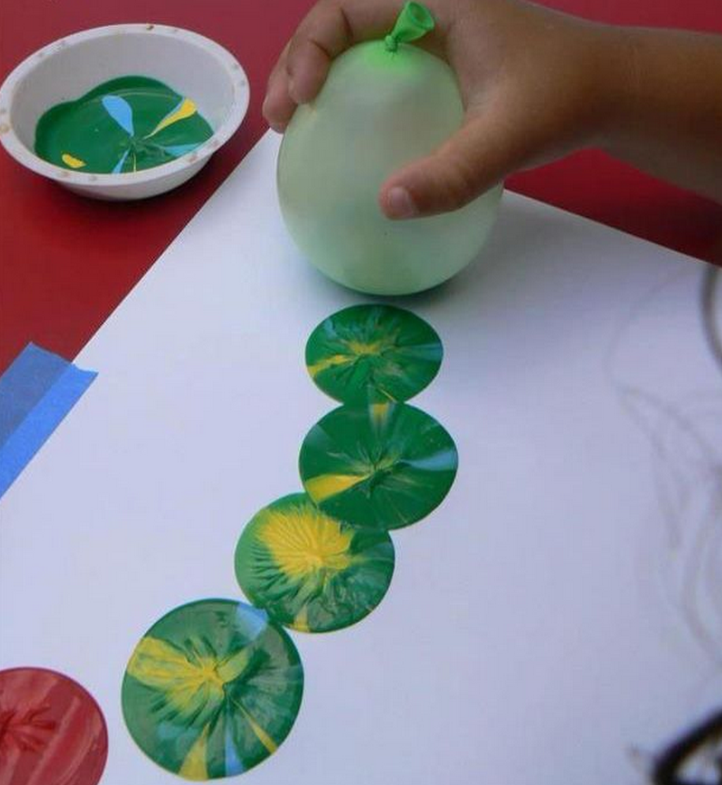 Quatang Gallery- 11 Zelfmaakideetjes Om Lekker Te Kliederen Met Verf Kids Crafts Kleuter Knutselwerk Knutselen Voor Kinderen