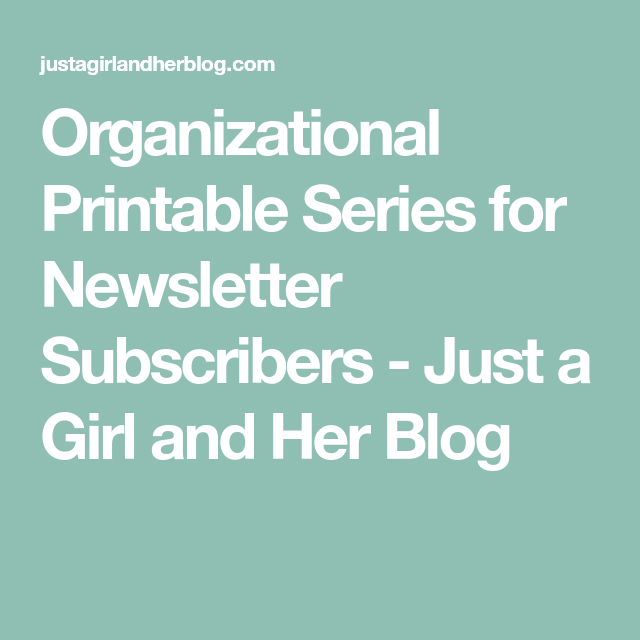 Protected: Printables Vault For Newsletter Subscribers