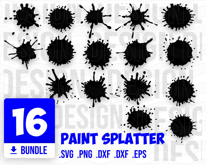 Paint Splatter Svg Paint Splash Svg Paint Streak Svg Ink Splatter Svg Ink Splatter Paint Splatter Ink Logo
