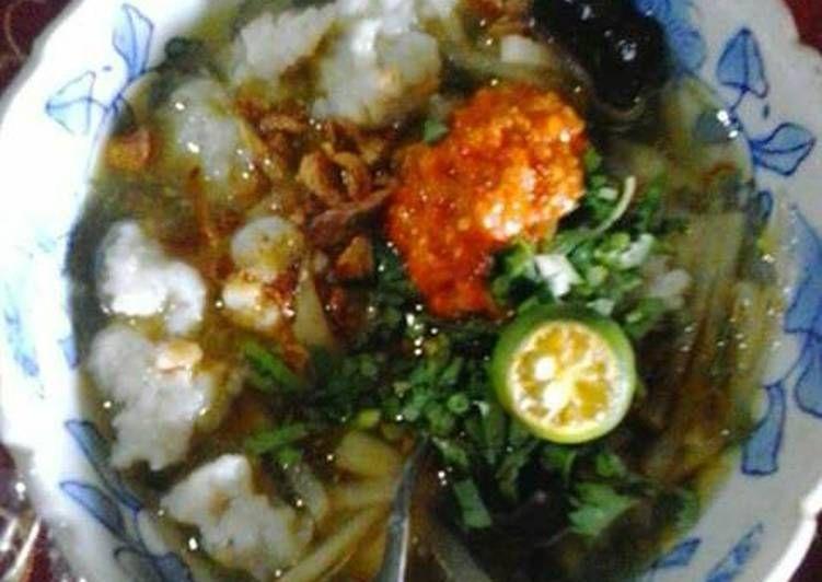 Resep Tekwan Tenggiri Khas Bangka Oleh Saturday April 14 Resep Resep Masakan Resep Masakan
