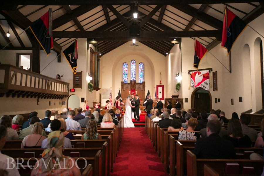 Cheap Wedding Ceremony And Reception Venues Mn: Fort Snelling Memorial Chapel Wedding In Minneapolis, MN