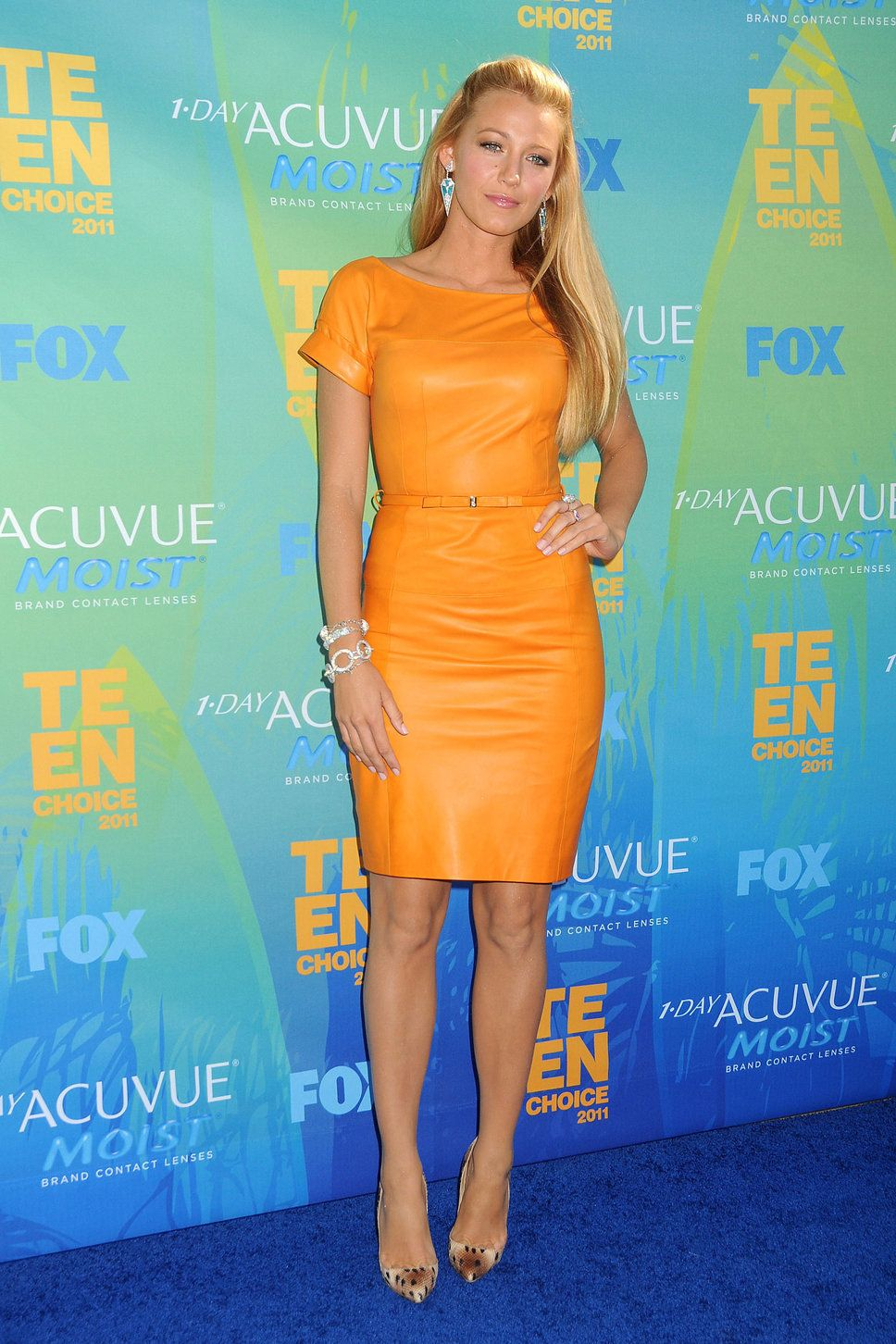 Blake Lively at the 2011 Kid\'s Choice Awards wearing a dress from ...
