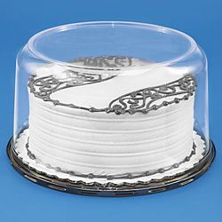 Cake Containers Plastic Cake Containers In Stock Uline Bakery Supplies Bakery Box Cake