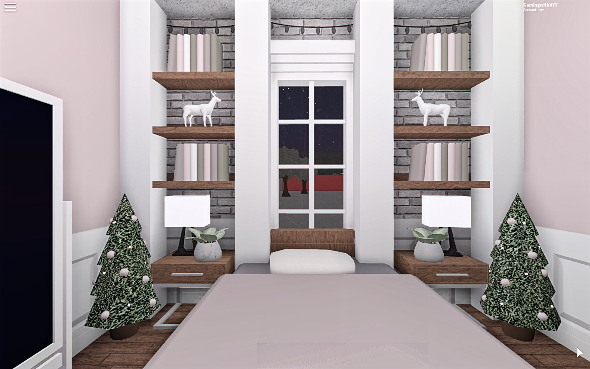 V. ♡ on Bedroom house plans, Aesthetic rooms, Sims house
