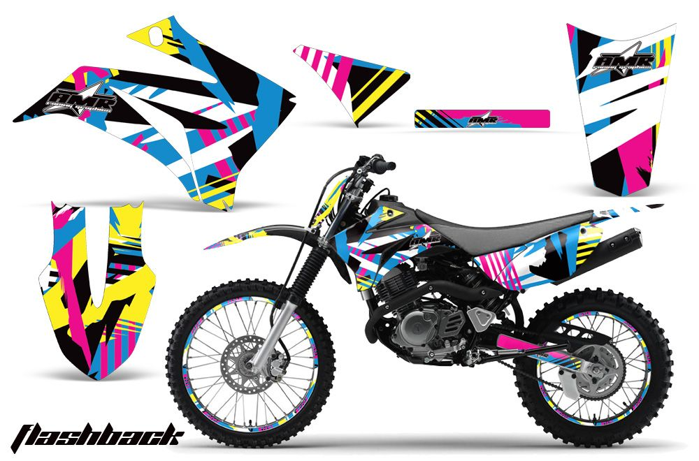 125 Graphic Kit Amr Mx Racing Plates Decal Sticker Ttr125 08